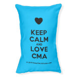 [Love heart] keep calm and love cma  Dog beds small dog bed