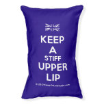 [UK Flag] keep a stiff upper lip  Dog beds small dog bed