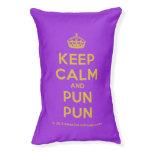 [Crown] keep calm and pun pun  Dog beds small dog bed