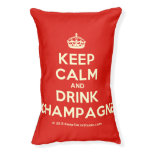 [Crown] keep calm and drink champagne  Dog beds small dog bed