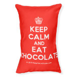 [Cupcake] keep calm and eat chocolate  Dog beds small dog bed