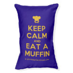 [Chef hat] keep calm and eat a muffin  Dog beds small dog bed