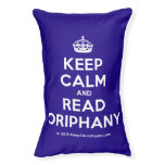 [Crown] keep calm and read oriphany  Dog beds small dog bed