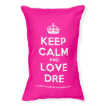 [Crown] keep calm and love dre  Dog beds small dog bed