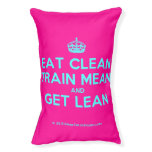 [Crown] eat clean train mean and get lean  Dog beds small dog bed