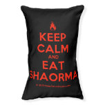 [Campfire] keep calm and eat shaorma  Dog beds small dog bed