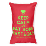 [Chef hat] keep calm and eat some pasteque  Dog beds small dog bed