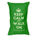 [Crown] keep calm and walk on  Dog beds small dog bed