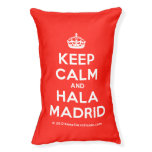 [Crown] keep calm and hala madrid  Dog beds small dog bed