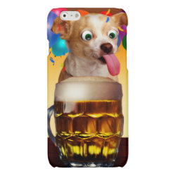 Case Savvy iPhone 6 Glossy Finish Case with Chihuahua Phone Cases design
