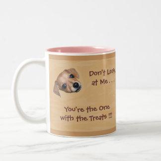 Dog Begging for Treats Mug