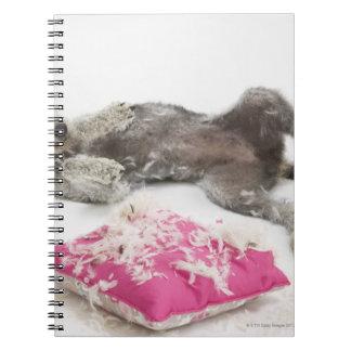 Dog behaviour training spiral notebook