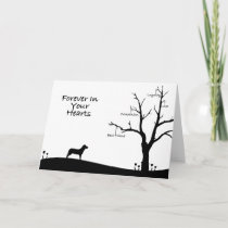 Dog Bereavement Sympathy Card