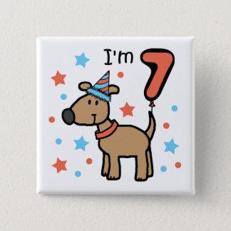Dog Birthday 7 Button