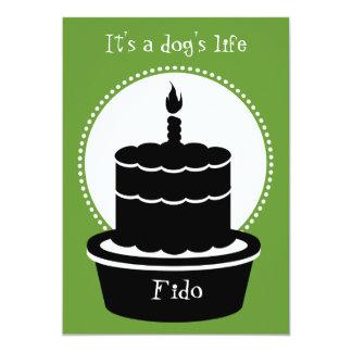 Dog Birthday Invitation - Dog's Life & Paw-ty!