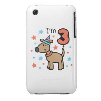 Dog Birthday Three iPhone 3 Case