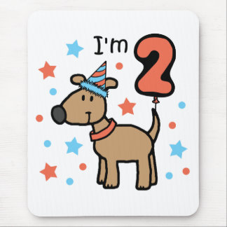Dog Birthday Two Mouse Pad