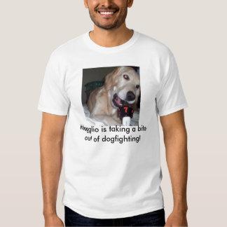 Dog bites dogfighter tee shirt