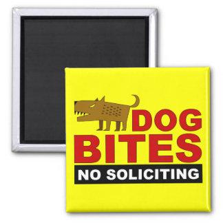 Dog Bites, No Soliciting Magnet