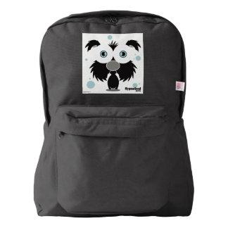 Dog(Black) Backpack, Black Backpack