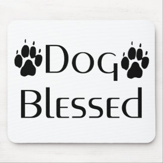 Dog Blessed Mousepad