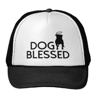 """Dog Blessed"" Pit Bull Angel Cap"