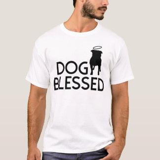 """""""Dog Blessed"""" Pit Bull Angel Men's Tee"""