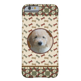 Dog Bone Custom Pet Picture Personalized Photo Barely There iPhone 6 Case