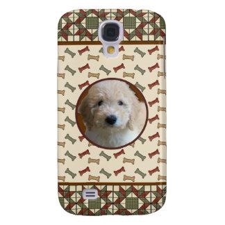 Dog Bone Custom Photo Frame Personalized Samsung Galaxy S4 Case
