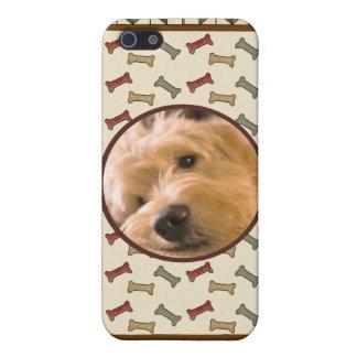 Dog Bone Custom Photo Frame Personalized iPhone 5 Cover
