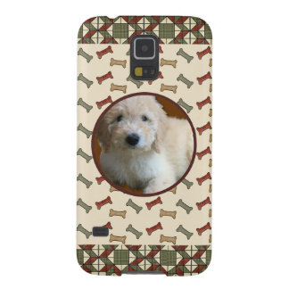 Dog Bone Custom Photo  Personalized Pet Picture Case For Galaxy S5