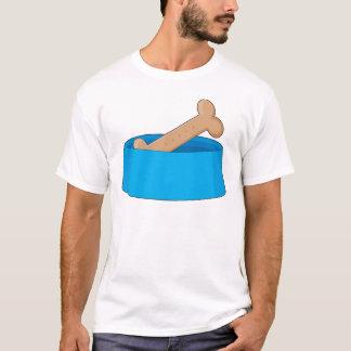 Dog Bone In Bowl T-Shirt
