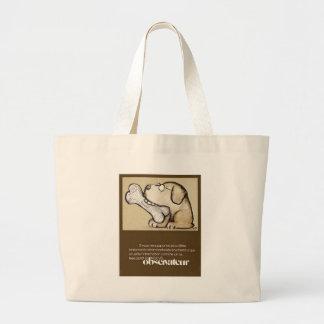 dog & bone jumbo tote bag