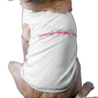 Dog Bone Princess Customizable Tshirt