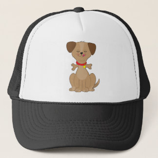 Dog Bone Trucker Hat