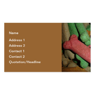 Dog Bones Double-Sided Standard Business Cards (Pack Of 100)