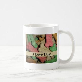 Dog Bones Classic White Coffee Mug