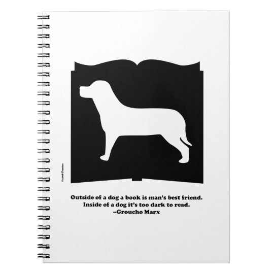 Dog Book Groucho Quote