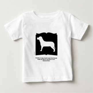 Dog Book Groucho Quote Baby T-Shirt