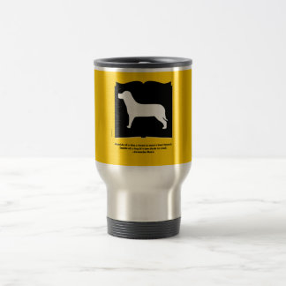 Dog Book Groucho Quote Coffee Mugs