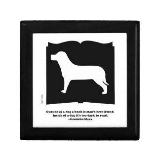 Dog Book Groucho Quote Gift Boxes