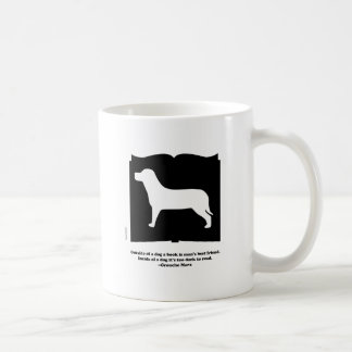 Dog Book Groucho Quote Mugs