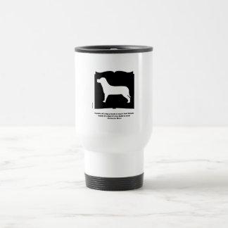 Dog Book Groucho Quote Travel Mug