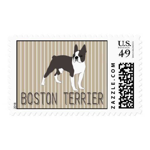 Dog-BOSTON TERRIER Postage Stamps