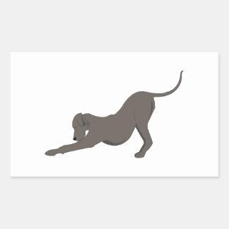Dog Bow Sticker