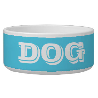 Dog Bowl by Janz Large in Sky Blue