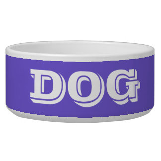 Dog Bowl by Janz Large in Slate Blue