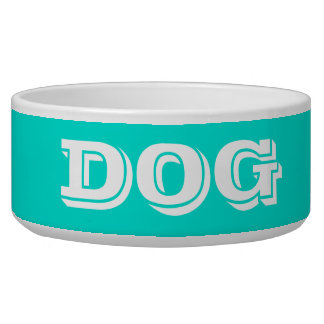 Dog Bowl by Janz Large Turquoise