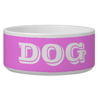 Dog Bowl by Janz Large Violet