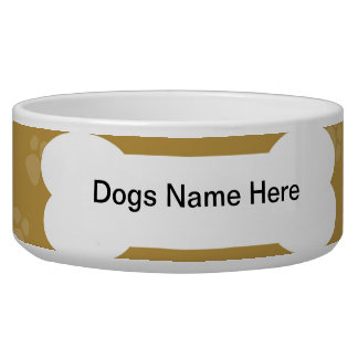 Dog Bowl - Customizable